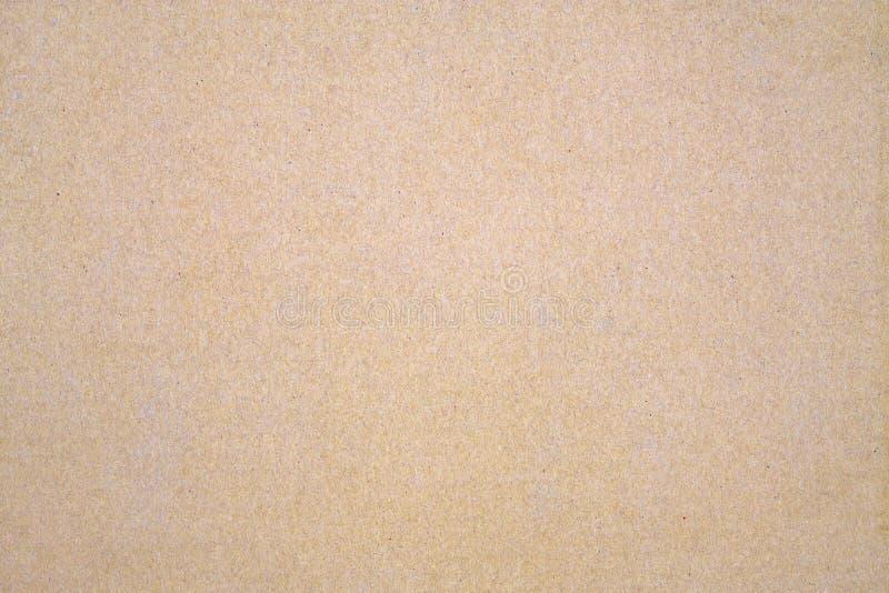 Fondo de la textura de la caja de papel de Brown Superficie de la cartulina Reciclaje del fondo de la textura del papel imágenes de archivo libres de regalías