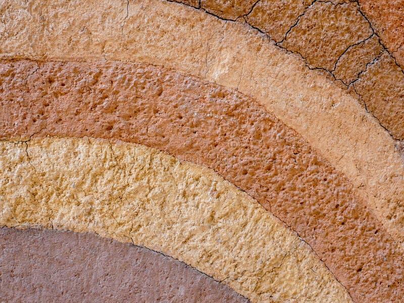 Fondo de la textura de la capa del suelo de la turba foto de archivo