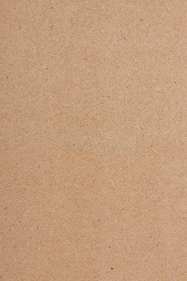 Fondo de la textura de la cartulina del papel de Brown fotografía de archivo libre de regalías