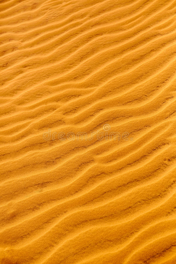 Fondo de la textura de la arena Modelo de dunas en desierto Deta de la naturaleza fotos de archivo