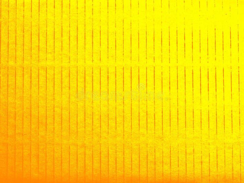 Fondo de la textura de la cartulina, amarillo de papel y fondo del oro para el fondo/el papel pintado/el trabajo de arte/el diseñ foto de archivo libre de regalías