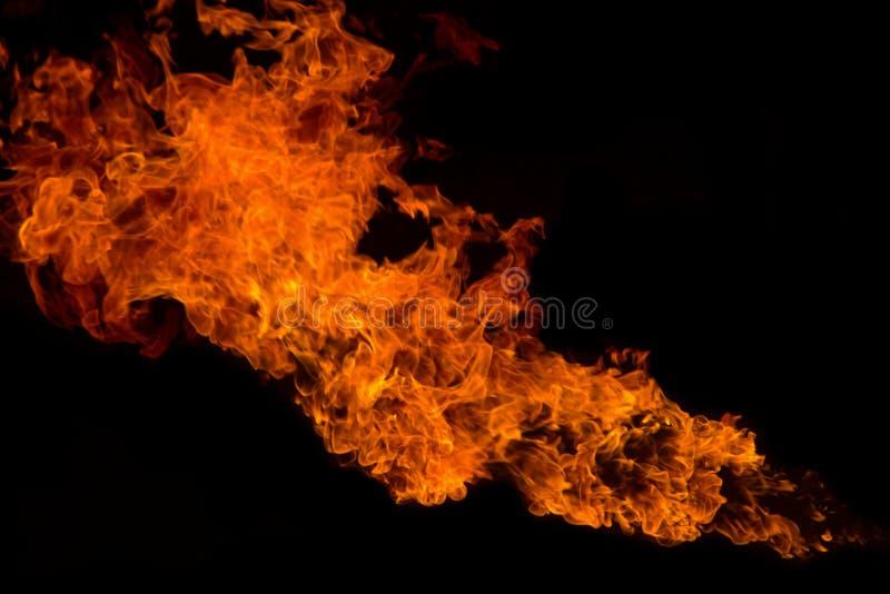 Fondo de la textura de la llama del fuego imagen de archivo