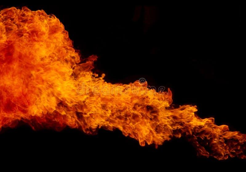 Fondo de la textura de la llama del fuego fotografía de archivo