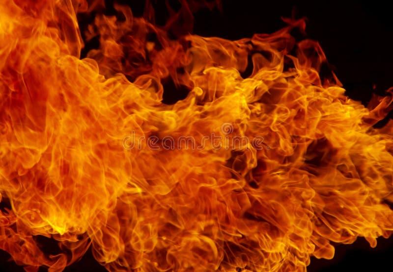 Fondo de la textura de la llama del fuego del resplandor fotos de archivo libres de regalías