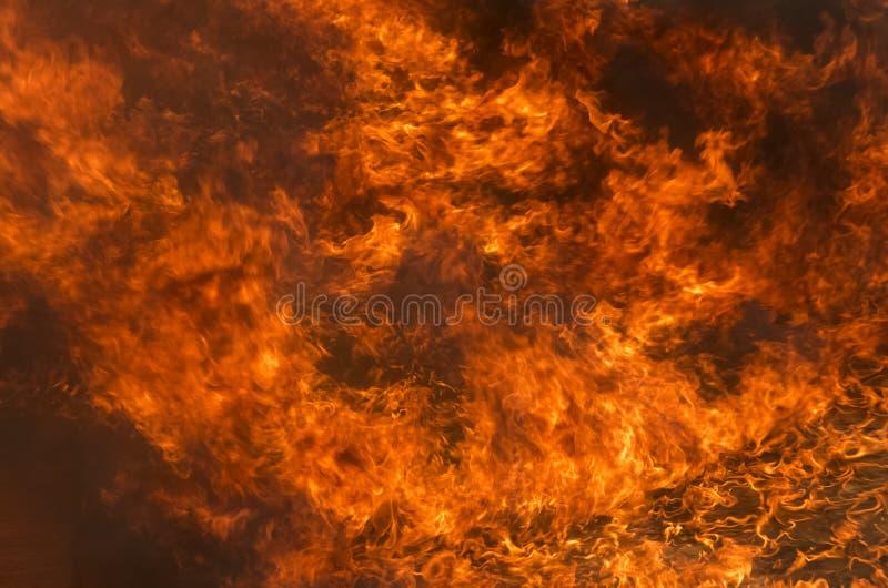 Fondo de la textura de la llama del fuego del resplandor imágenes de archivo libres de regalías