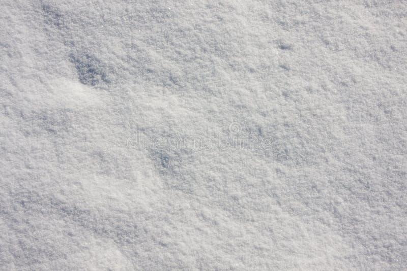 Fondo de la textura de la nieve fotos de archivo libres de regalías