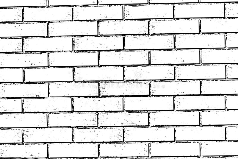 Fondo de la textura de la pared de ladrillo stock de ilustración