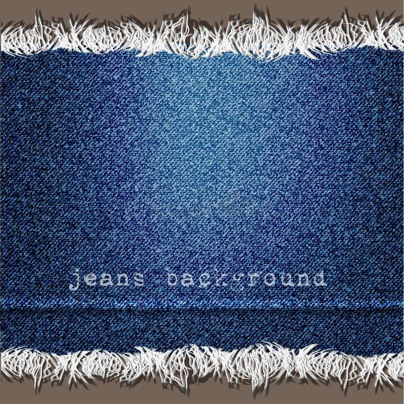 Fondo de la textura del dril de algodón libre illustration