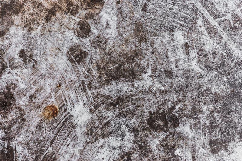 Fondo de la textura del Grunge con los rasguños y los staines imagen de archivo libre de regalías