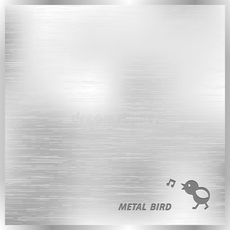 Fondo de la textura del metal ilustración del vector