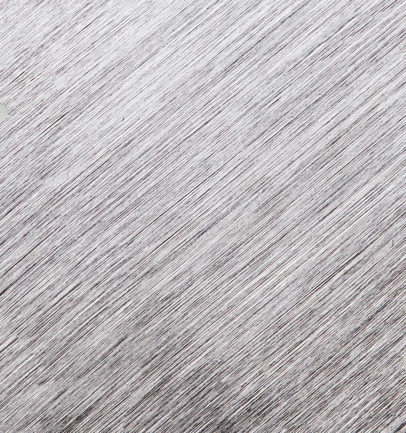 Fondo de la textura del metal Foto macra del aluminio cepillado primer fotografía de archivo