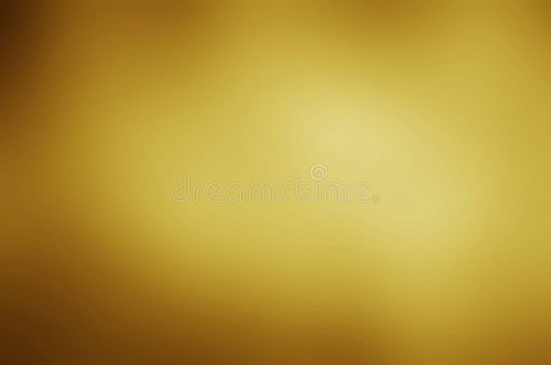 Fondo de la textura del metal del oro con los haces de luz horizontales fotografía de archivo libre de regalías