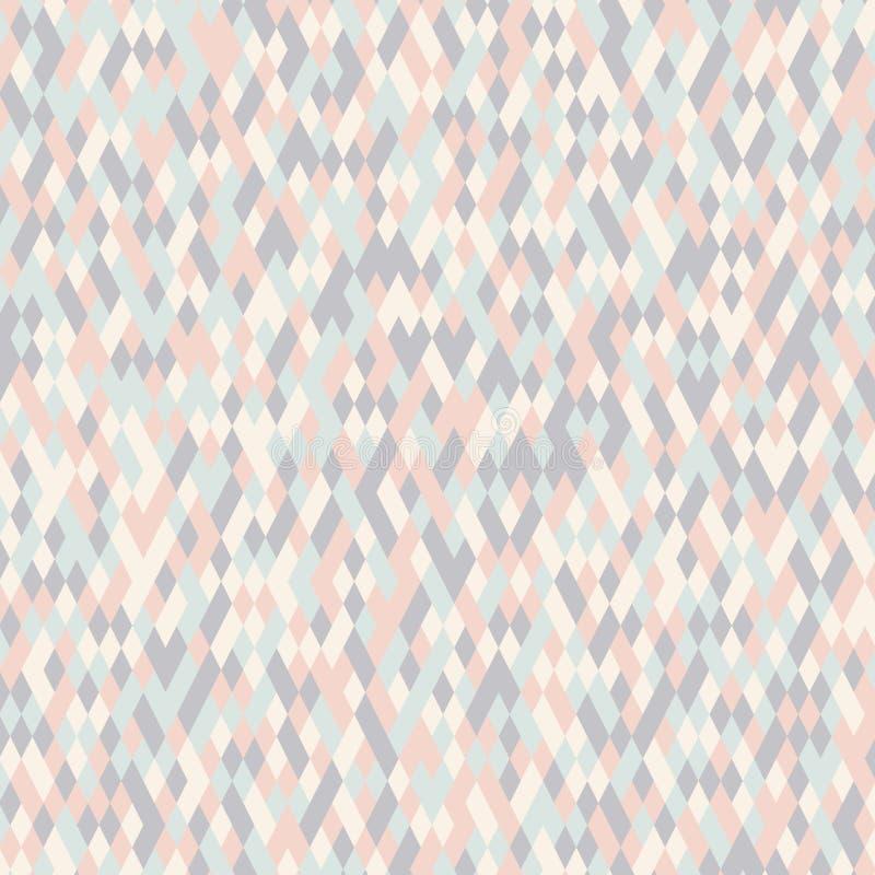 Fondo de la textura del modelo del color del diamante stock de ilustración
