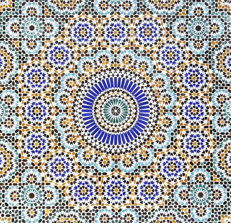 Fondo de la textura del modelo del Islam fotografía de archivo libre de regalías