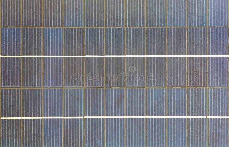 Fondo de la textura del panel solar fotografía de archivo libre de regalías