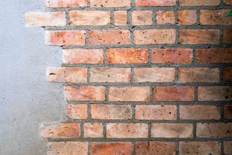 Fondo de la textura de la pared de ladrillo foto de archivo libre de regalías