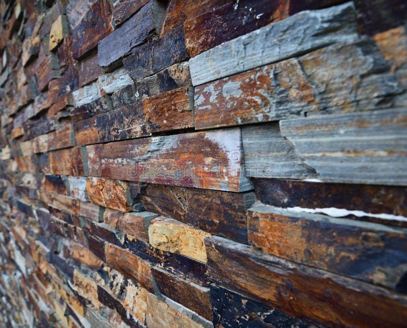 Fondo de la textura de la pared de piedra de la pizarra Pared de piedra de la pizarra foto de archivo