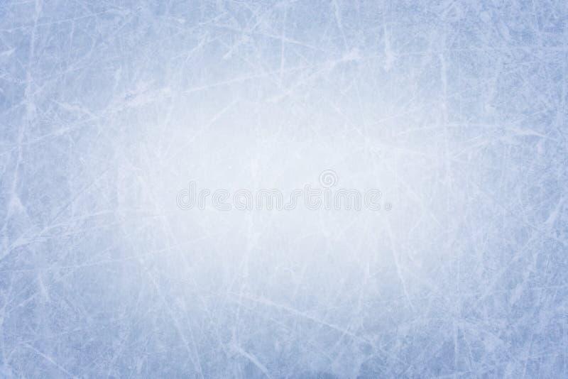 Fondo de la textura de la superficie de la pista de hielo con los rasguños fotos de archivo libres de regalías