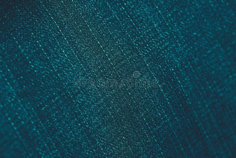 Fondo de la textura de la tela del dril de algodón de la mezclilla del trullo, vintage entonado fotografía de archivo libre de regalías