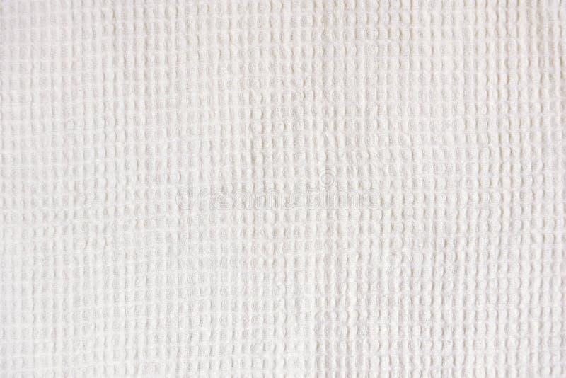 Fondo de la textura de la toalla de la galleta de la tela foto de archivo libre de regalías