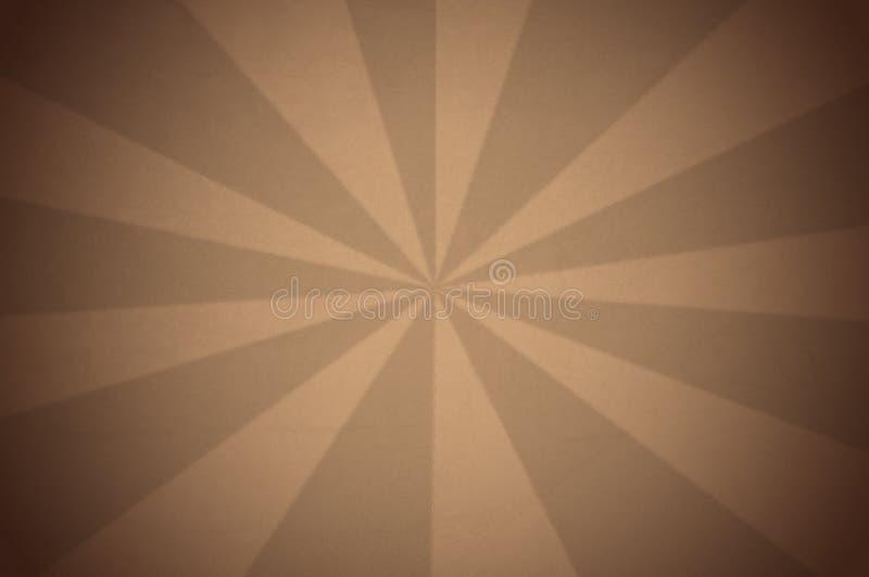 Fondo de la vendimia con los rayos de la sepia ilustración del vector