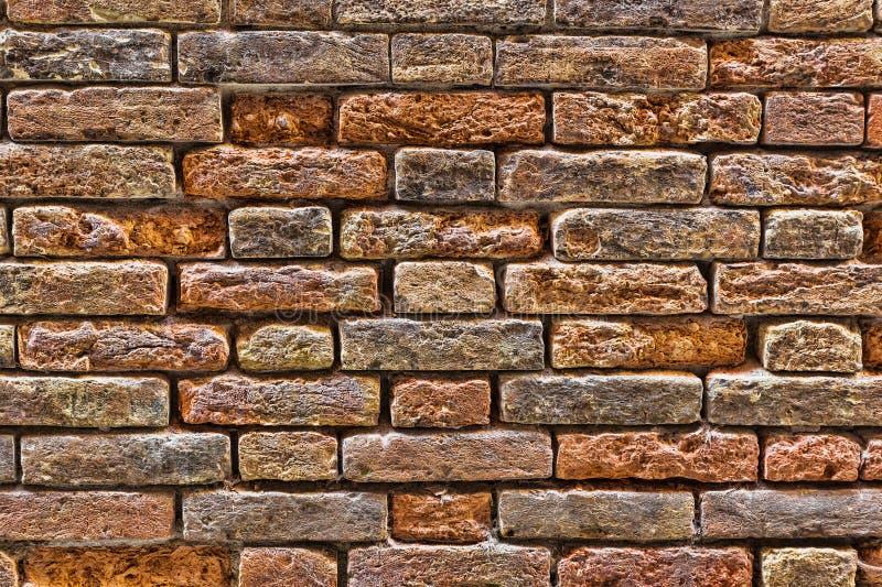 Fondo de la vieja textura de la pared de ladrillo foto de archivo libre de regalías