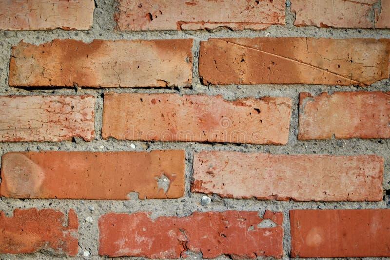 Fondo de la vieja textura de la pared de albañilería del ladrillo foto de archivo