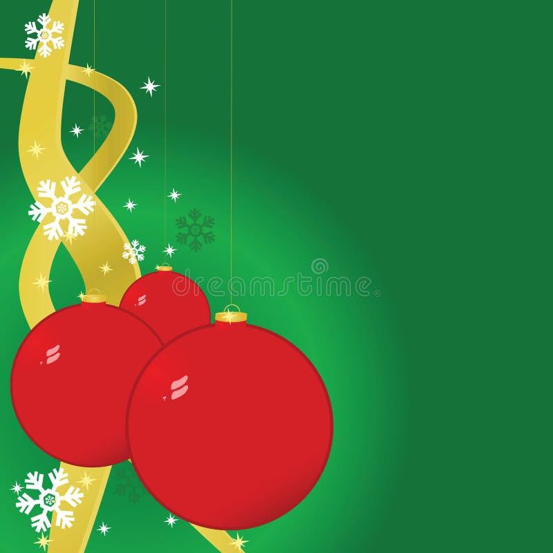 Download Fondo De Las Bolas De La Navidad Ilustración del Vector - Ilustración de fresco, adorne: 7151688