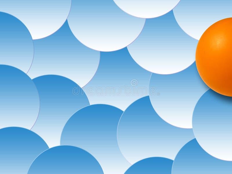 Fondo de las burbujas coloreadas, III stock de ilustración