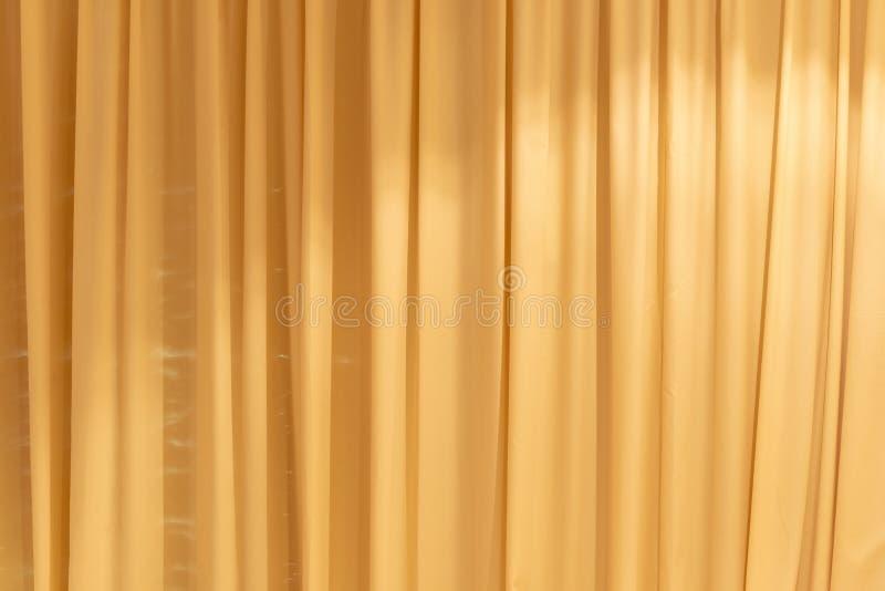 Fondo de las cortinas de Brown imagen de archivo libre de regalías