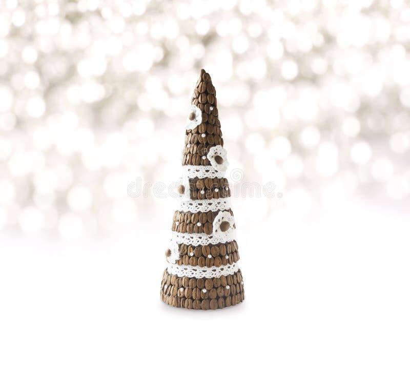 Fondo de las decoraciones de la Navidad fotos de archivo libres de regalías