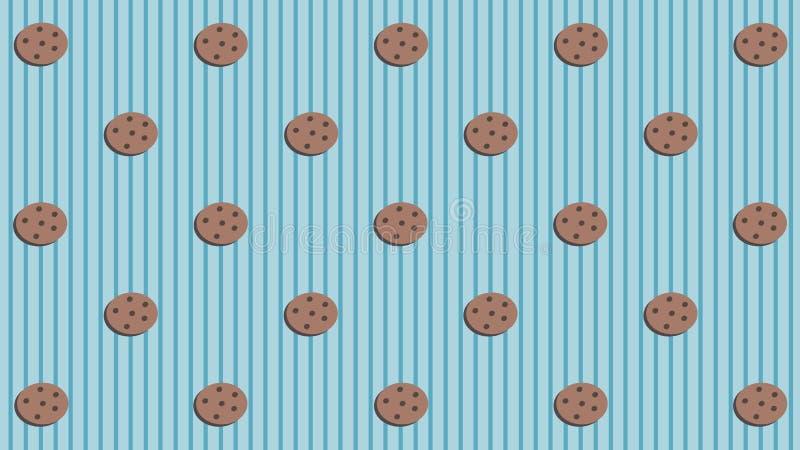 Fondo de las galletas imagen de archivo libre de regalías
