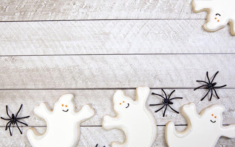 Download Fondo De Las Galletas De Halloween Foto de archivo - Imagen de decoraciones, fantasma: 44850192