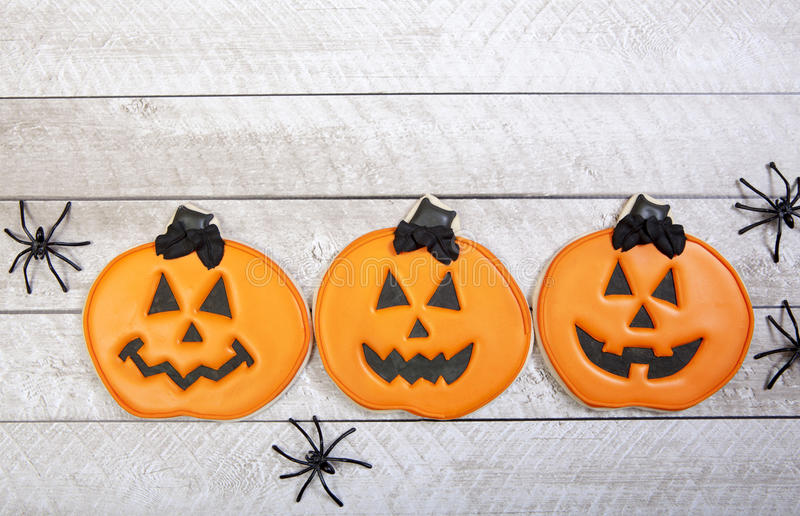 Download Fondo De Las Galletas De Halloween Imagen de archivo - Imagen de araña, decoraciones: 44850259