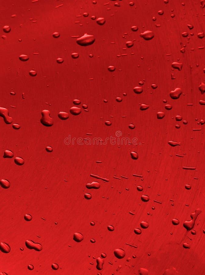 Fondo de las gotas rojas imagenes de archivo