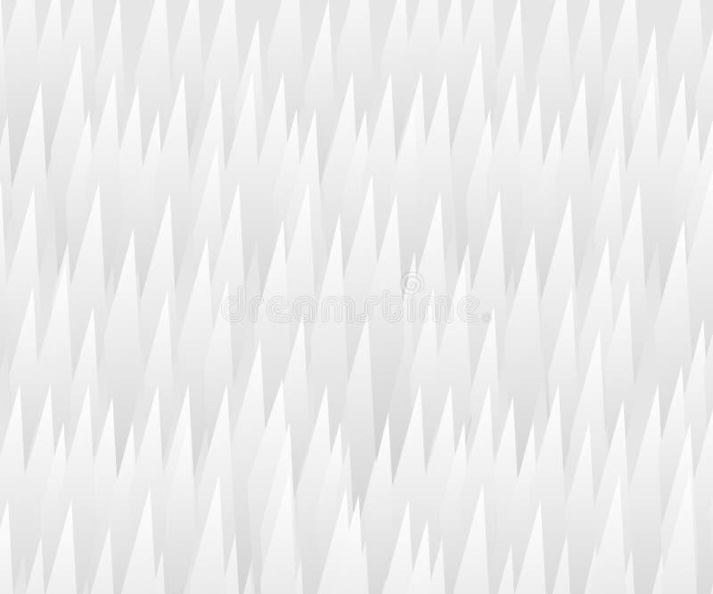 Fondo de las líneas del zigzag Ilustración del vector Espacio para el texto stock de ilustración