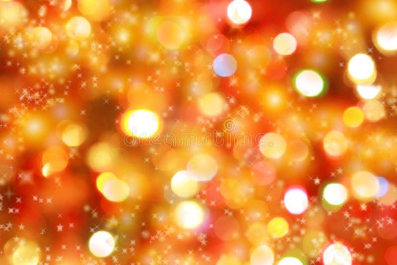 Fondo de las luces de la Navidad imagen de archivo libre de regalías