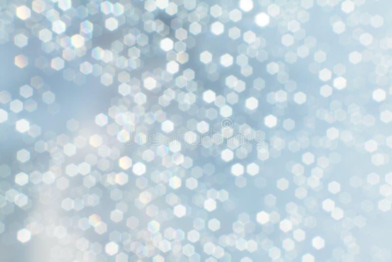 Fondo de las luces de la Navidad foto de archivo