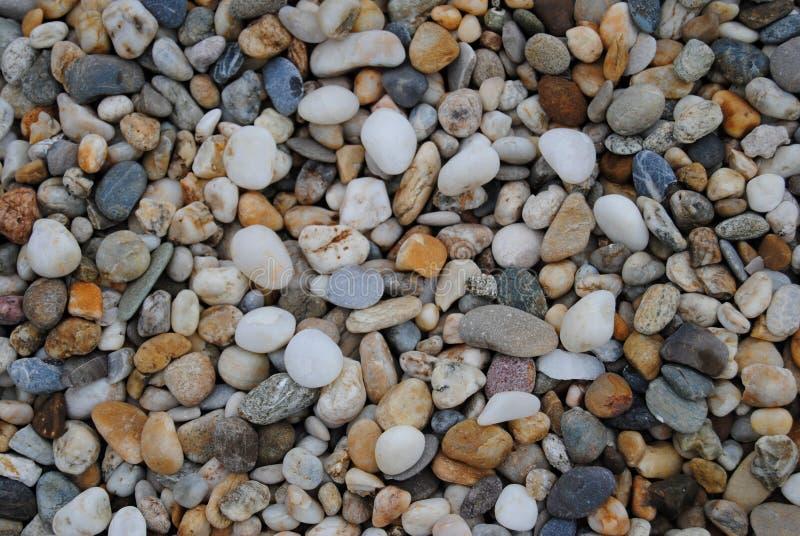 Fondo de las pequeñas piedras foto de archivo libre de regalías