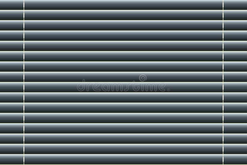 Fondo de las persianas de ventana en estilo realista Ilustración del vector stock de ilustración