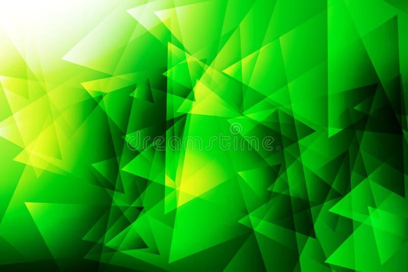 Fondo de las texturas verde abstracto y ligero fotos de archivo