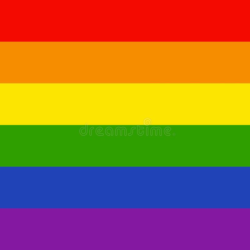 Fondo de LGBTQ ilustración del vector