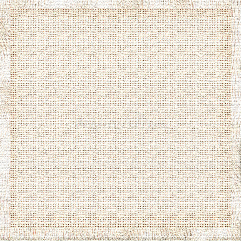 Fondo de lino de la tela imagen de archivo