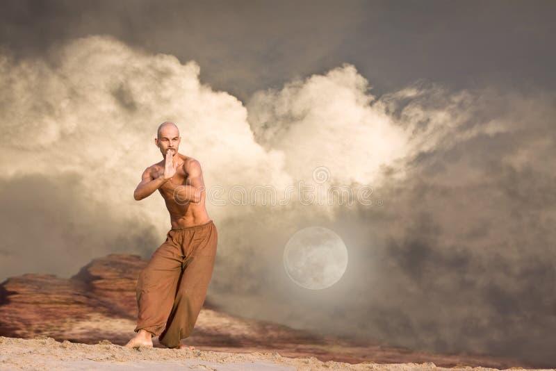 Fondo de los artes marciales fotos de archivo