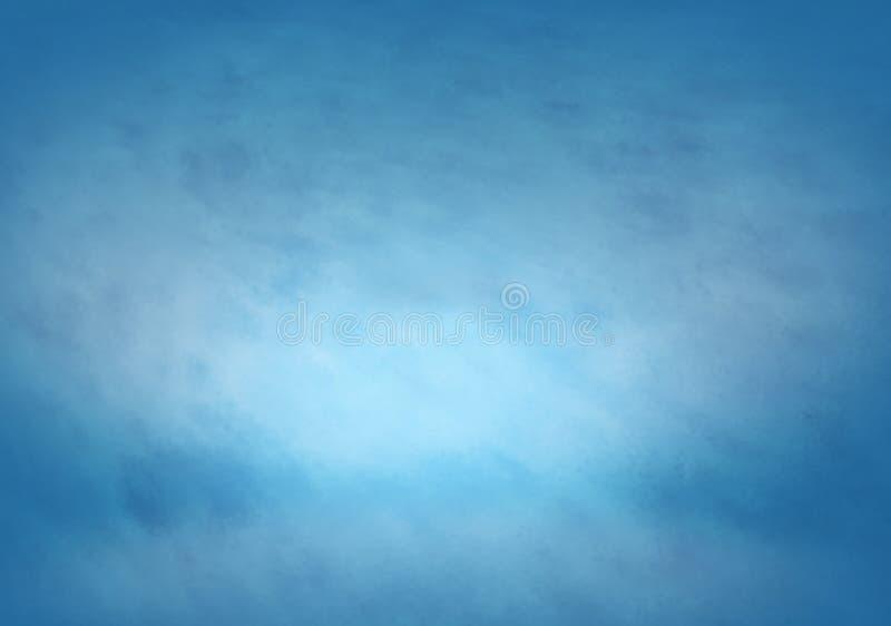 fondo de los azules claros, hielo de la textura libre illustration