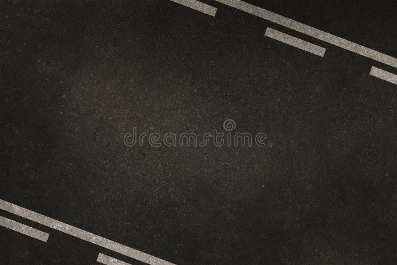 Fondo de los carriles de la carretera imagen de archivo libre de regalías