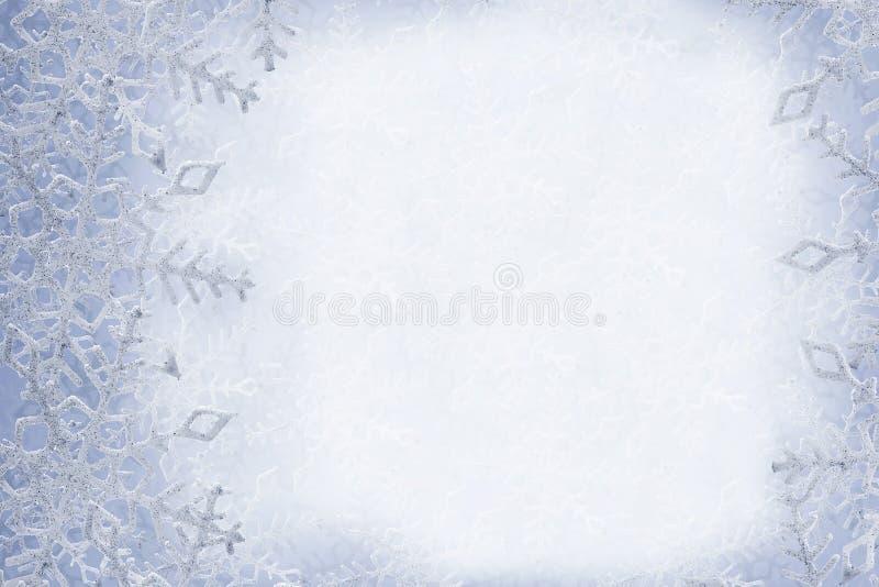 Fondo de los copos de nieve fotografía de archivo