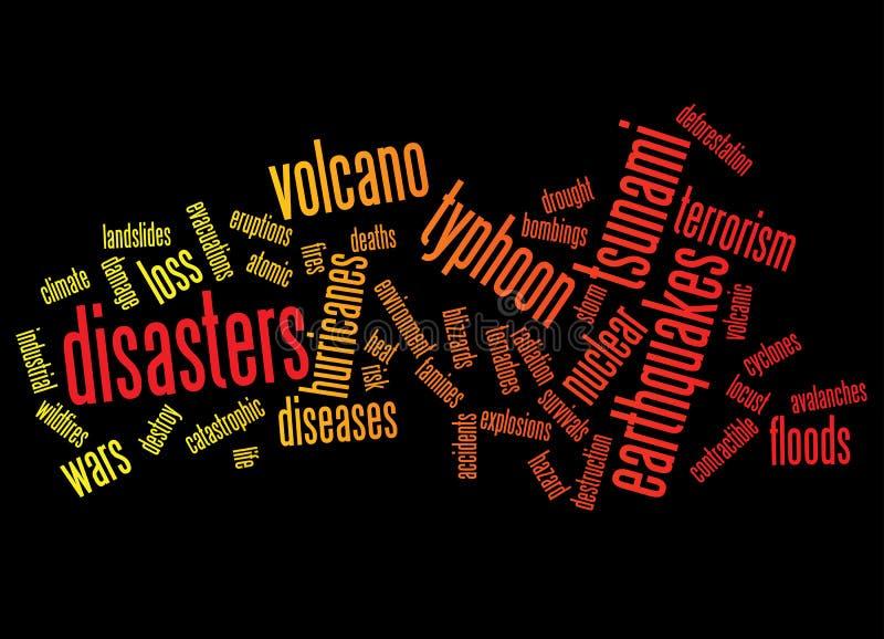 Fondo de los desastres libre illustration