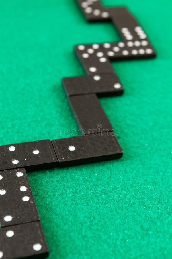 Fondo de los dominós foto de archivo