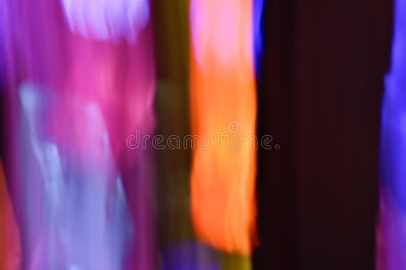 Fondo de los efectos luminosos, fondo ligero abstracto, escapes ligeros, foto de archivo libre de regalías
